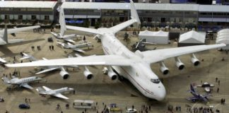 The largest plane in the world has taken off again, the first time in 18 months