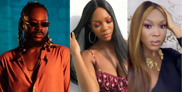 Adekunle Gold issues strong warning to Vee after she tackled him