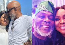 """My Heart Still Dey Cut 2 Times If I Hear Your Name"" – Actor, RMD Gushes Over Wife On Her Birthday"