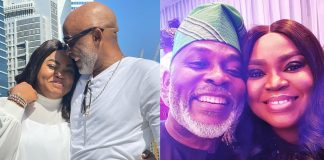 """""""My Heart Still Dey Cut 2 Times If I Hear Your Name"""" – Actor, RMD Gushes Over Wife On Her Birthday"""