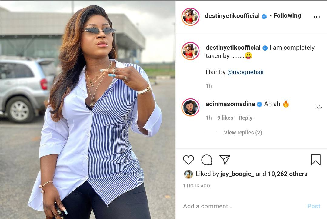 'I Am Completely Taken'- Actress, Destiny Etiko Says As She Leaves The Single Ladies Market At 31 Years Old