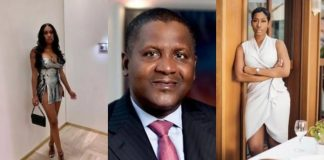 """she's a hungry thug, never dated her"" – dangote denies first us mistress, bae lewis"