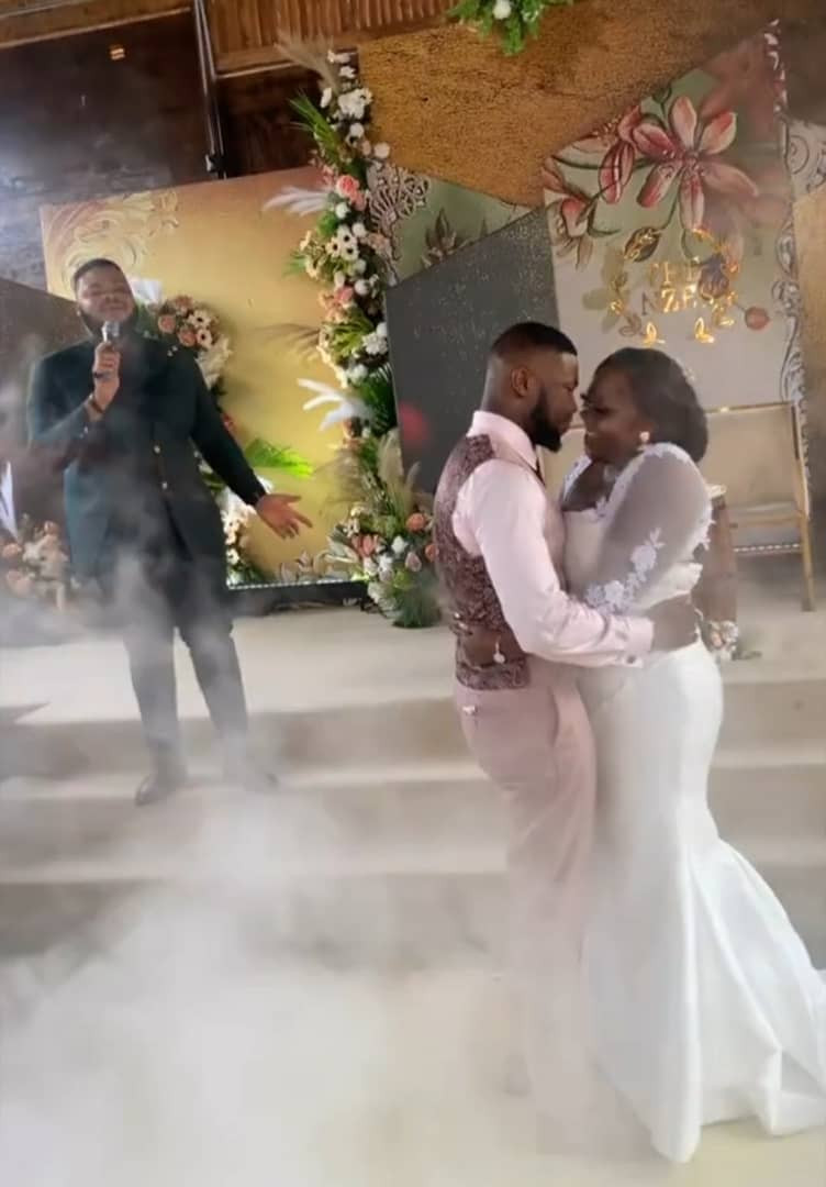 Check Out Photos And Videos As Actor Stan Nze and Blessing Gets Married in Great Style, Timi Dakolo Honours Them With Songs